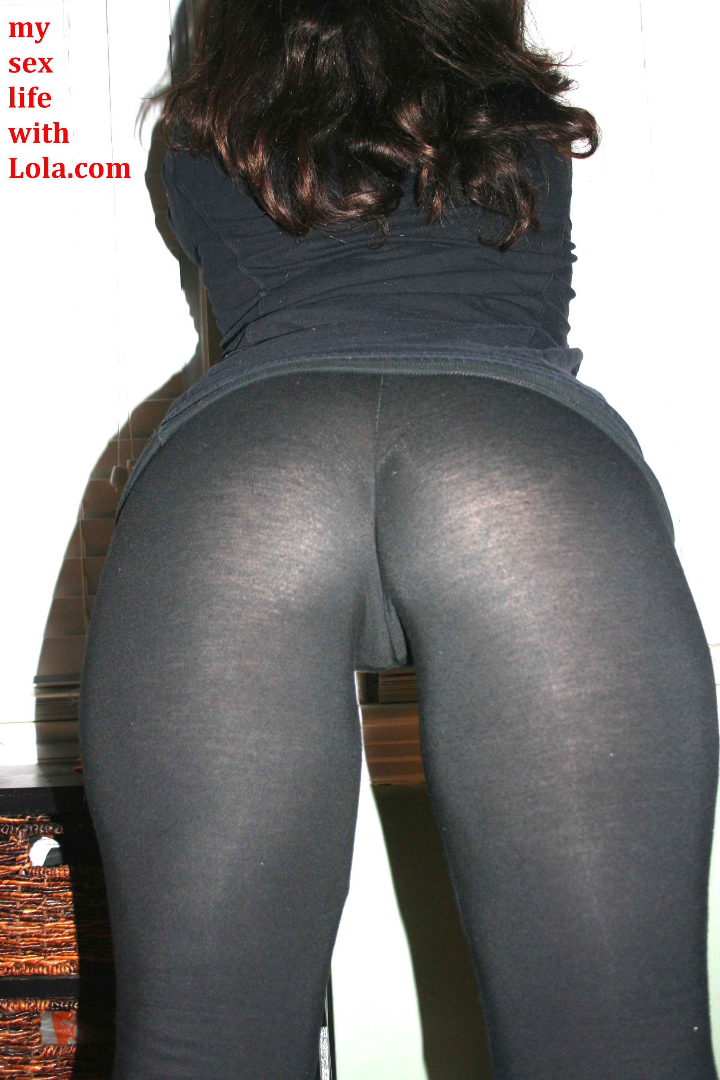 Cum On Yoga Pants Public